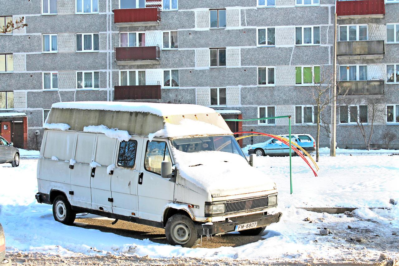 коммерческий транспорт в жилых зонах