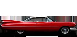 Cadillac DeVille купе 1959-1960
