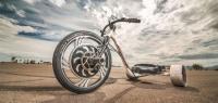 Трицикл с электродвигателем