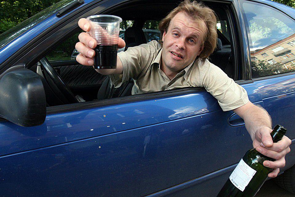 Запах алкоголя за рулем