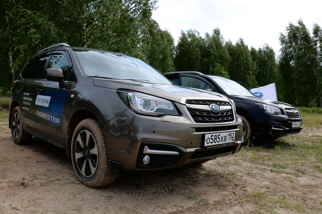 Презентация Subaru Outback и Legacy фото