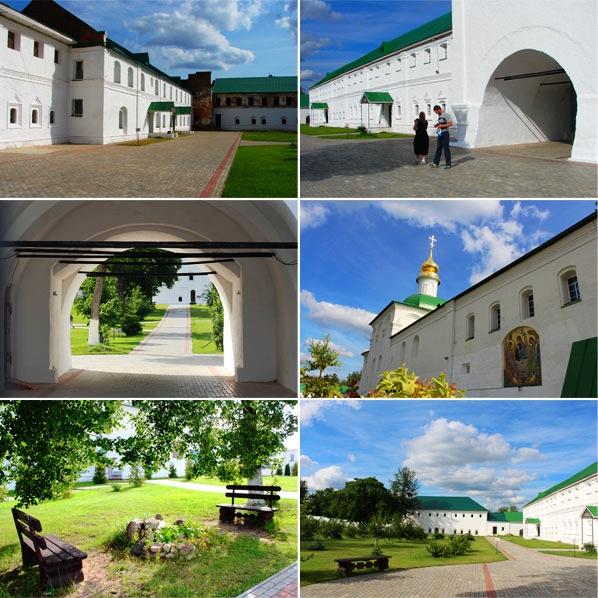 На территории монастыря во Флорищах